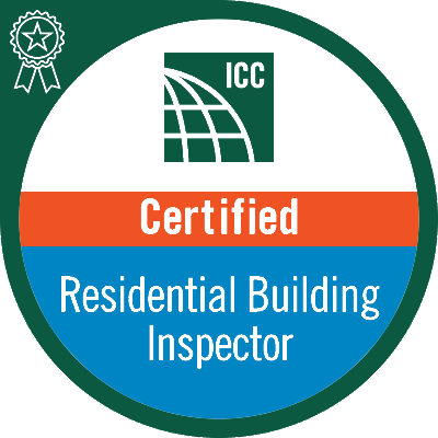 ICC residential building inspector for Matlock Roofing